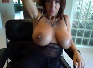 This huge-titted mature doll want to..