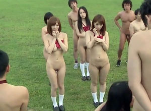 Filthy japanese college Bareness..