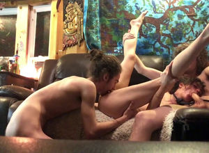 Inexperienced bi-curious 3 with..