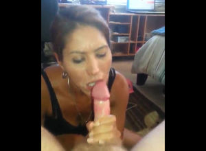 Doggie poke and bj for spunk in throat