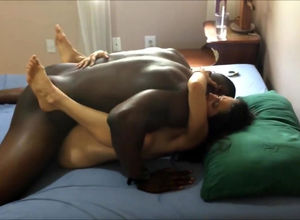 jizz inwards wifey orgasmic bi-racial..