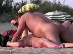 Cap d'Agde public hookup on the..