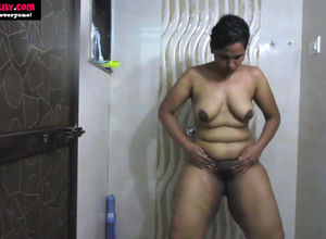 South indian hot obese bare homemade