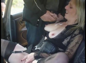 Car call girls taking cum compilation