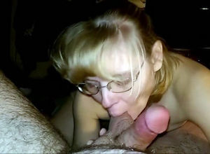 Mature man-meat dicksucker with..