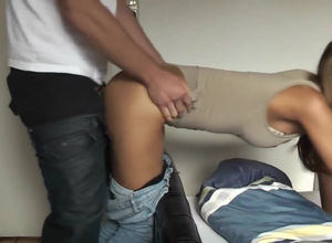 Infatuating nubile Girlfriend gets..