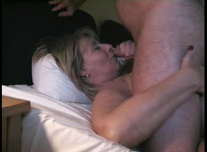 German plumper mature fat facial cumshot