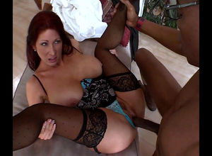 Redheaded Mummy Tiffany Mynx with..
