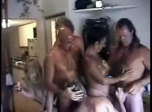 Fledgling Yankee mature swingers orgy.